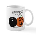 Halloween Daddys Home Pumpkin Mug