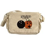 Halloween Daddys Home Pumpkin Messenger Bag