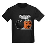 Halloween Daddys Home Pumpkin Kids Dark T-Shirt
