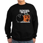 Halloween Daddys Home Pumpkin Sweatshirt (dark)