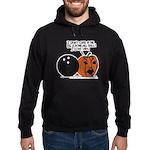 Halloween Daddys Home Pumpkin Hoodie (dark)