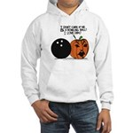 Halloween Daddys Home Pumpkin Hooded Sweatshirt
