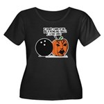 Halloween Daddys Home Pumpkin Women's Plus Size Sc
