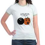Halloween Daddys Home Pumpkin Jr. Ringer T-Shirt