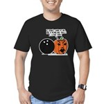 Halloween Daddys Home Pumpkin Men's Fitted T-Shirt