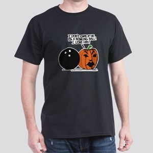 Halloween Daddys Home Pumpkin Dark T-Shirt