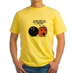 Halloween Daddys Home Pumpkin Yellow T-Shirt