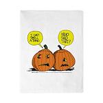 Halloween Daddys Home Pumpkins Twin Duvet