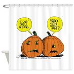 Halloween Daddys Home Pumpkins Shower Curtain