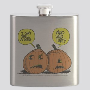 Halloween Daddys Home Pumpkins Flask