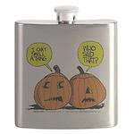 Halloween Daddys Home Pumpkins Flask