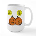 Halloween Daddys Home Pumpkins Large Mug
