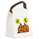 Halloween Daddys Home Pumpkins Canvas Lunch Bag