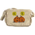 Halloween Daddys Home Pumpkins Messenger Bag