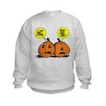 Halloween Daddys Home Pumpkins Kids Sweatshirt
