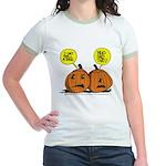 Halloween Daddys Home Pumpkins Jr. Ringer T-Shirt