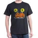 Halloween Daddys Home Pumpkins Dark T-Shirt
