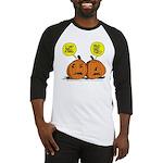Halloween Daddys Home Pumpkins Baseball Jersey