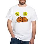 Halloween Daddys Home Pumpkins White T-Shirt