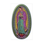 15 Lady of Guadalupe Sticker (Rectangle 10 pk)