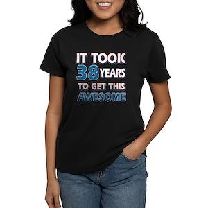 38th Birthday Womens T Shirts