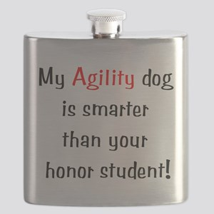 My Agility dog is smarter tha Flask