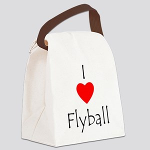 loveflyball Canvas Lunch Bag