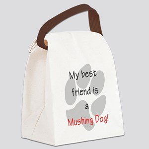 mushingbestfriend Canvas Lunch Bag