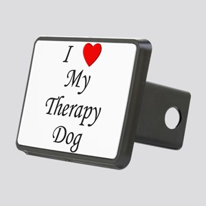 lovemytherapydog Rectangular Hitch Cover