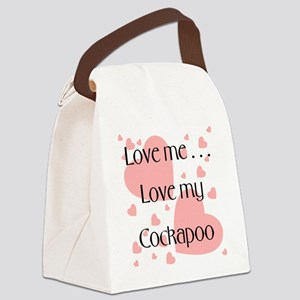 cockapooloveme Canvas Lunch Bag
