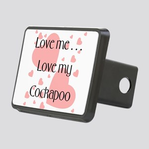 cockapooloveme Rectangular Hitch Cover