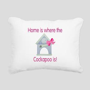 cockapoohome2 Rectangular Canvas Pillow