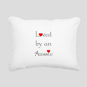 lovedaussie Rectangular Canvas Pillow