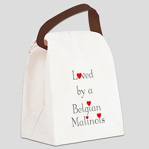 lovedbelgmal Canvas Lunch Bag