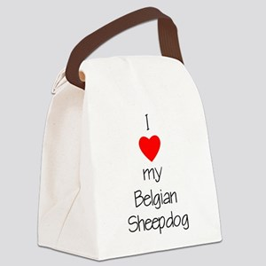 lovemybelgsheep Canvas Lunch Bag