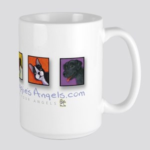 Maggie's Angels Dogs Large Mug