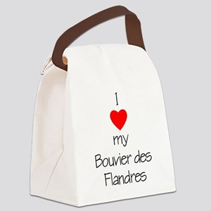 lovemybouvier Canvas Lunch Bag