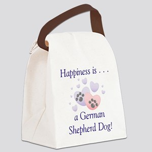 happinessgermanshep Canvas Lunch Bag