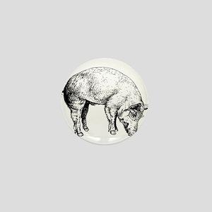 Piggy Mini Button