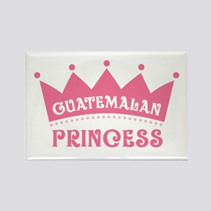 Guatemalan Princess rectangle magnet