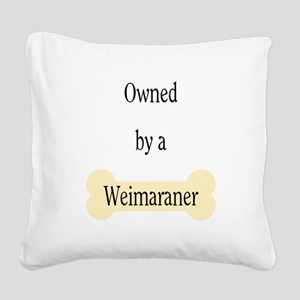 ownedweim Square Canvas Pillow