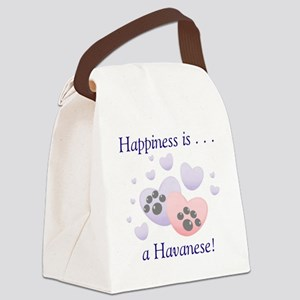 happinesshavanese Canvas Lunch Bag