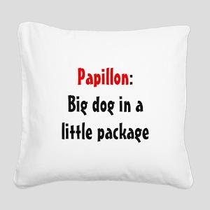 pap-bigdog Square Canvas Pillow