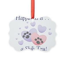 happinessshihtzu Picture Ornament