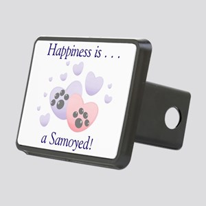 happinesssamoyed Rectangular Hitch Cover