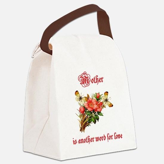 Motherwordforlove1 Png Canvas Lunch Bag