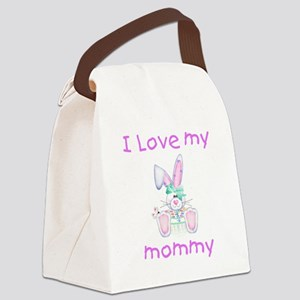 lovemymommy5 Canvas Lunch Bag
