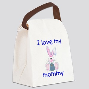 lovemymommy4 Canvas Lunch Bag