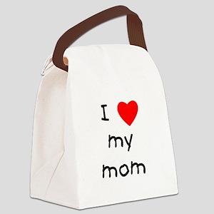 lovemymom Canvas Lunch Bag