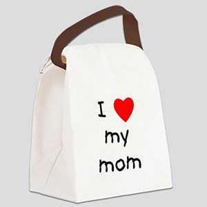 lovemymom.png Canvas Lunch Bag